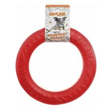 Игрушка для собаки Кольцо 8-мигранное Doglike большое (коралловый)