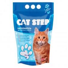 """Наполнитель силикагелевый""""CAT STEP"""" для кошек 3.8 л."""
