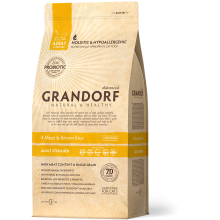 GRANDORF 4 Мяса с рисом Sterilised