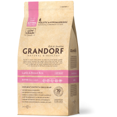 GRANDORF Ягнёнок с рисом Kitten