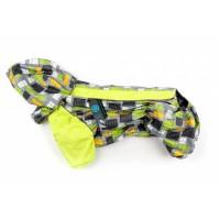 Дождевик для собак Французский бульдог / мопс Slicker Yellow LINE