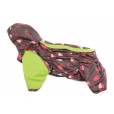 Дождевик для собак Французский бульдог / мопс Slicker berry