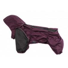 Дождевик для собак Французский бульдог / мопс Slicker cherry